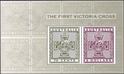 2015 Victoria Cross minisheet