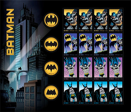 USA 2014 Batman Sheet