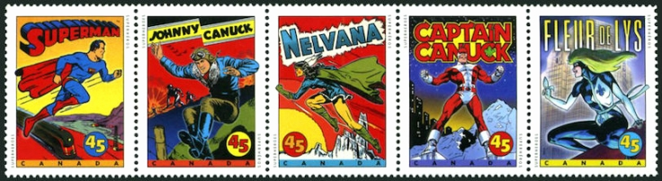 Canada 1997 Superheroes