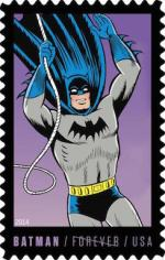 USA 2014 Batman Row 3 Silver Age