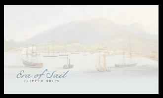 Australia 2015 Era of Sail: Clipper Ships blank cover