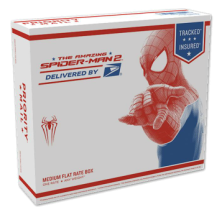 USA 2014 Spideman Flat Rate Box