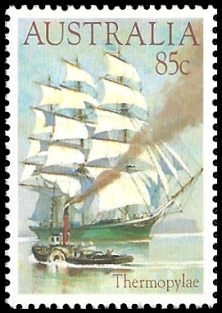 Australia 1984 Clipper Ships Thermopylae