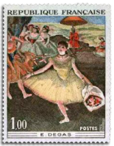 1970 France Edgar Degas ballet