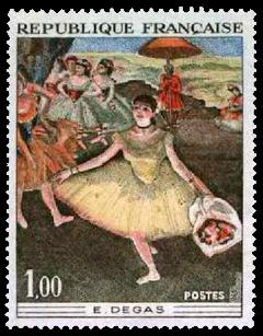 1970 France Edgar Degas ballet