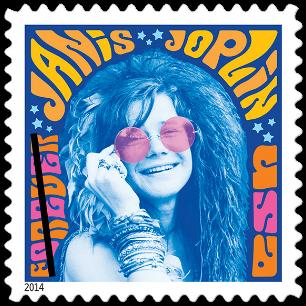 USA 2014 Janis Joplin stamp