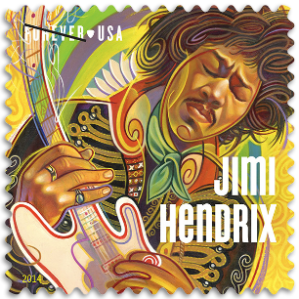 USA 2014 Jimi Hendrix stamp