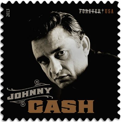 USA 2013 Johnny Cash stamp