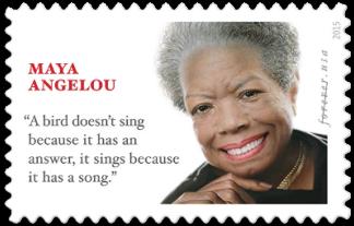USA 2015 Maya Angelou stamp