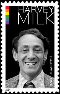 USA 2014 Harvey Milk stamp