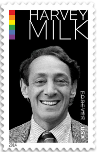 USA 2014 Harvey Milk stamp