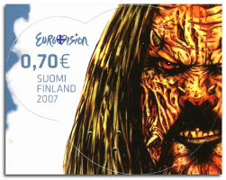Finland 2007 Lordi stamp