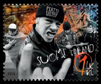 Finland 2015 PKN Eurovision Stamp
