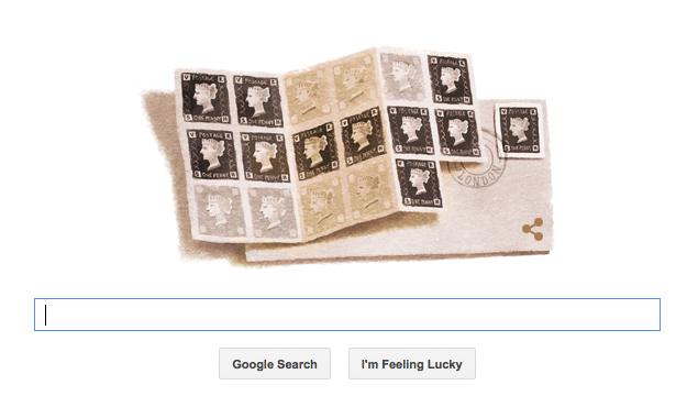 Google Doodle 1 May 2015