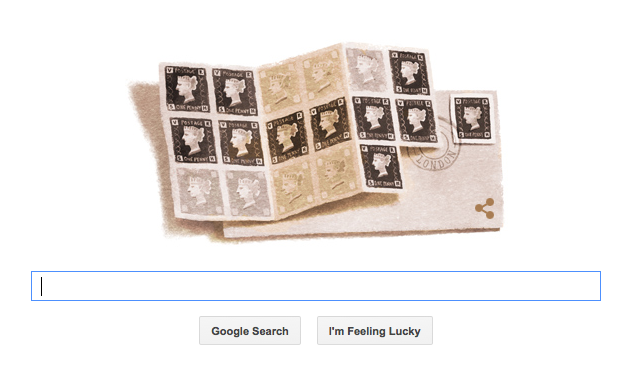 Google Doodle 1 May 2015