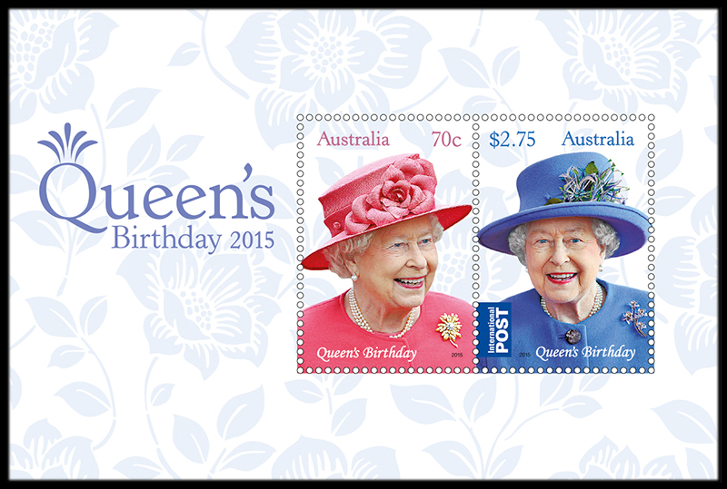 Australia 2015 Queen's Birthday minisheet