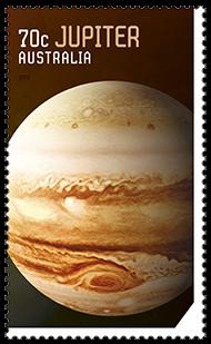 Australia 2015 Our Solar System Jupiter stamp