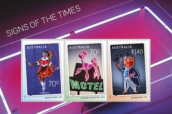 Australia 2015 Sign of the Times minisheet