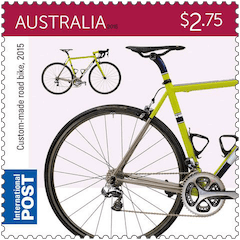 Australia 2015 Bicycles $2.75 2015 custom-made road bike