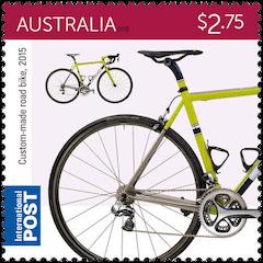 Australia 2015 Bicycles $2.75 2015 custom-made road bike