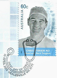 Australia 2012 Medical Doctors Healesville FDI postmark