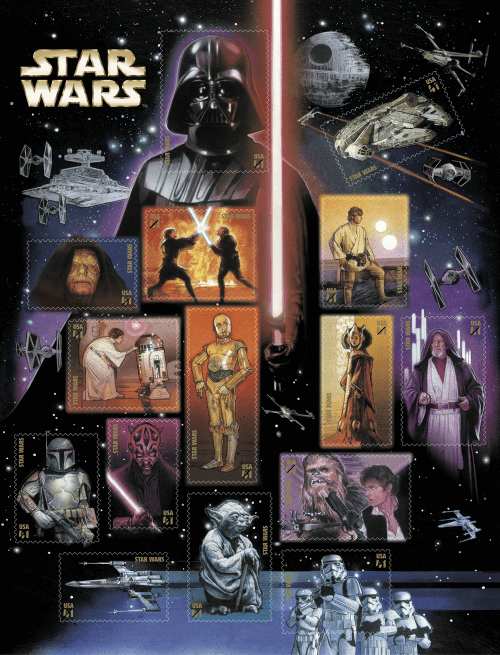 2007 USA Star Wars Sheet