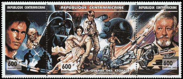 1994 CAR Star Wars strip