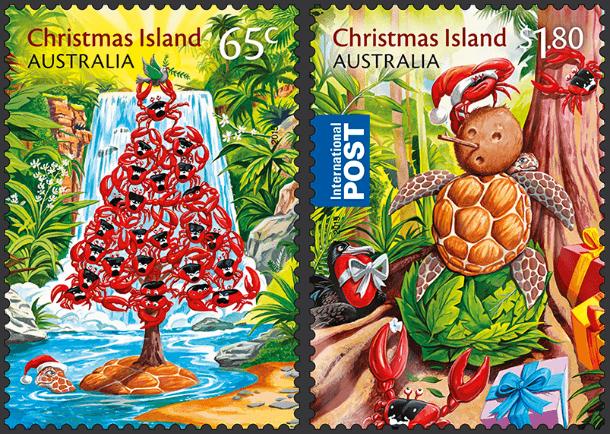 ChristmasIsland2015ChristmasStamps