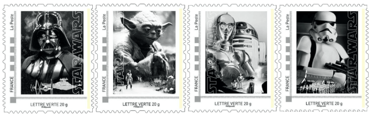 2015 France Star Wars stamps