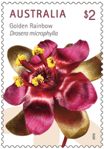 Australia 2015 $2 Golden Rainbow wildflower stamp
