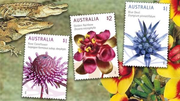 Australia 2015 Wildflowers Punk Philatelist feature image