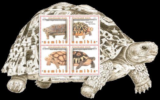 Namibia 2016 Tortoises minisheet