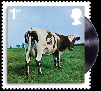 UK 2016 1st Pink Floyd Atom Heart Mother (1970) Album Cover Stamp