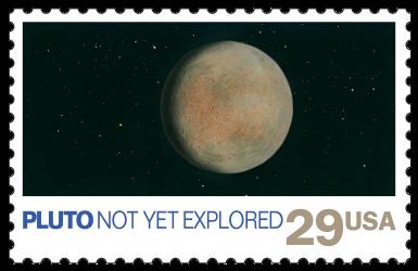 USA 1991 Space Exploration Pluto stamp