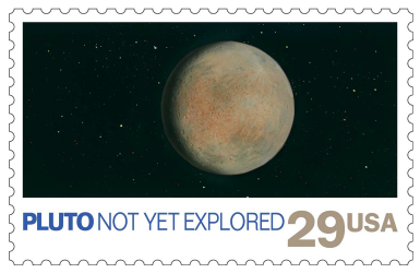 USA 1991 Space Exploration Pluto stamp