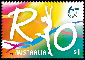 australia_2016_road_to_rio_1_stamp