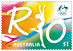australia_2016_road_to_rio_1_stamp
