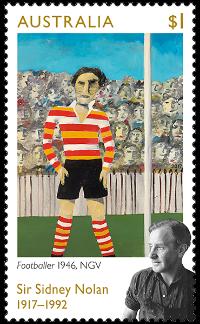 Australia 2017 $1 Sir Sidney Nolan stamp