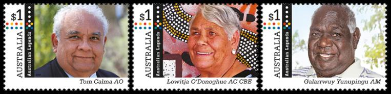 Australia 2017 Legends stamp set