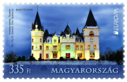Hungary 2017 Europa 335Ft Andrássy Castle stamp