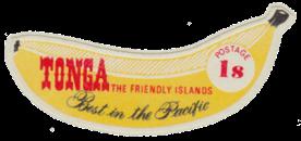 Tonga 1969 banana 1s stamp
