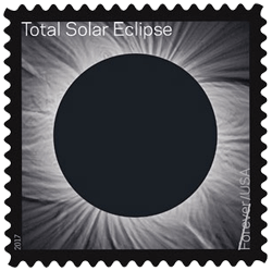USA 2017 Eclipse Forever eclipse stamp