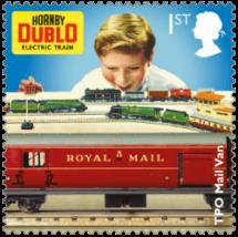 UK 2017 Classic Toys 1st Horny Dublo stamp