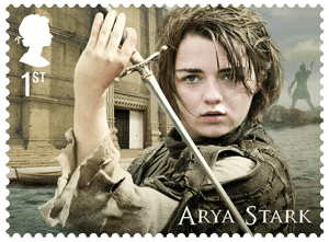 UK 2018 Game of Thrones 1st Arya Stark stamp