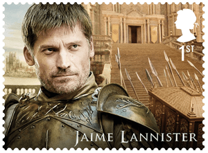 UK 2018 Game of Thrones 1st Jaime Lannister stamp