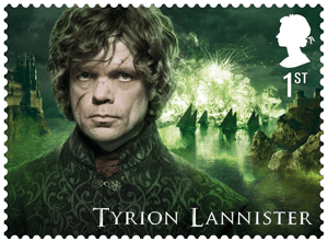 UK 2018 Game of Thrones 1st Tyrion Lannister stamp