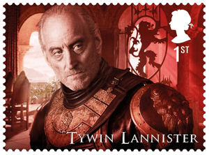 UK 2018 Game of Thrones 1st Tywin Lannister stamp