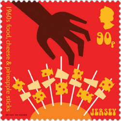 Jersey 2017 Popular Culture: The 1960s 90p food stamp