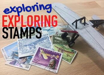 Exploring Exploring Stamps tnf
