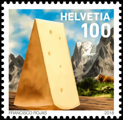 Switzerland 2018 Fondue CHF1 Cheese